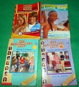 Lot 4 Books Vintage High School Musical Luna Bay The Baby Sitters Club