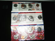 1987 And 1988 And 1989us Mint Uncirculated Coin Set P And D Choice Unc Gem Bu Coin