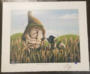 Fabio Napoleoni You Don't Scare Me Print Sn Edition Of 25 With Custom Doodle