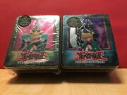 Yugioh 2003 2 Joey Collectible Tins Jinzo And Gearfried Factory Sealed New