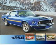 2021 And 2022 Henryand039s Heritage - Ford Cars Calendar