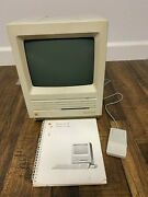 Macintosh Se M5011 Computer 800k Drive 20sc Hd W/ Manual And Mouse