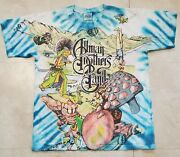 Vintage 1995 Allman Brothers Band Single Stitch L Large All Over Graphic T Shirt