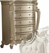 Acme Picardy Chest In Antique Pearl Finish 26886