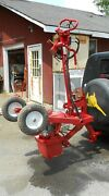 Little Beaver Post Hole Digger Hydraulic With Towing Hitch And 4 Augers Reverse