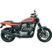 Bassani 1800-1366 Road Rage 2 Into1 Exhaust System Black Harley Sportster 1xr8r