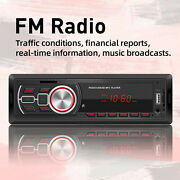 Audio Systems Car Stereo Stereo Receiver Mp3 Player Cd Usb Port Aux Input