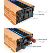 1600w Dc12-48v To Ac220v Car Power Inverter Converter Adapter With Usb