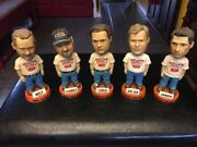 The Ticket 1310 Am Ktck Bobbleheads Full Set Of All Five Rare And Vintage