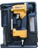 Stanley Bostitch Bt35 Brad Nailer With Manuals And Parts List. Used Twice