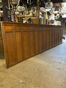 Vintage Oak Wainscot With Egg And Dart Trim Architectual Salvage