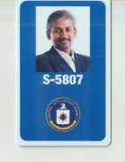 My Spy 2020 Movie Prop Production Used Cia Briefing Plastic Cia Id 02