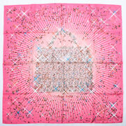 Hermes Scarf Carre 90 Silk Magic Kelly Stole Shawl Rose Pink Multicolor