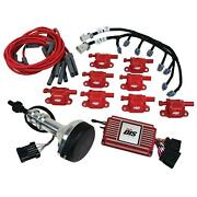 Msd 60153 Direct Ignition System Kit, Small Block Ford 351w, Red