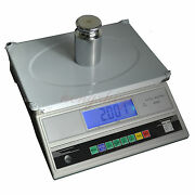 30kg X 1g Precision Digital Bench Scale W Counting, Electronic Table Top Balance
