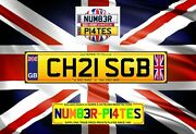Chris Gb Ch21 Sgb Christopher Private Plate Cherished Number Name Reg