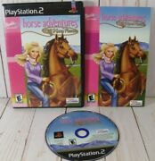 Barbie Horse Adventures Wild Horse Rescue Sony Playstation 2 2003 Cib Tested