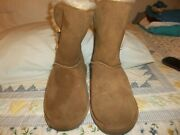 Preowned Bearpaw Sherpa Lined Boots 9 M