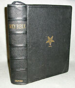 Masonic Oxford Bible Leather Book Order Of The Eastern Star Oes Freemasonry 1960