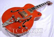 Used Gretsch 1994 6120 Nashville Red Electric Guitar Free Shipping