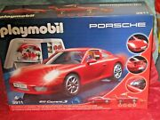 Playmobil 3911 Porsche 911 Carrera S With Lights And Workshop New