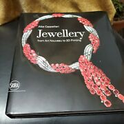 New Alba Cappelieri Jewelry From Art Noveau To 3d Printing Hardcover Book