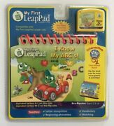 Leap Frog My First Leap Pad I Know My Abc's Book And Cartridge Pre-reader New Nip