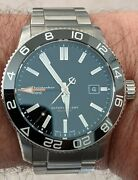 Christopher Ward C60 Gmt 600 42mm Automatic Stainless Excellent Condition