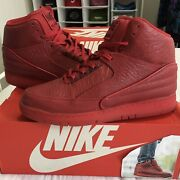 Nike Air Python Red October - Yeezy 🔴 Size 10 - Fast Free Shipping 705066-600