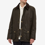 Barbour Nwt 415 Ashby Menandrsquos Size M L Xl Olive Wax Cotton Jacket Free Shipping