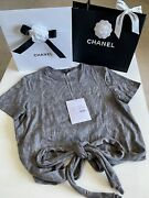 Cruise Tee Shirt Tie Top Blouse Size 38/40 Bn Sold Out Rrp2980