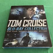 Tom Cruise Collection Blu New Slip 5 Disc Top Gun, Collateral, Days Of Thunder+2