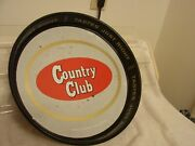 Country Club Vintage Beer Tray 13 Tastes Just Right M.k. Goetz St. Joseph Mo.