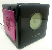 Insignia Ns-cl01 Clock Radio Dock For Apple Ipod Iphone 3g 3gs 4 4s Touch 30 Pin