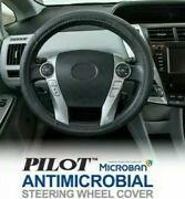 Lot Of 2 Two Pilot Antimicrobial Microban Steering Wheel Cover 14.5-15 New