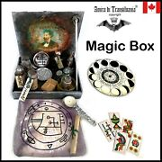 Box Witchcraft Kit Starter Ritual Magic Wicca Pagan Altar Witch Spell Curse Set