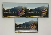 2004,2005,2006 Westward Journey Nickel Series Coin Set W/coas And Boxes