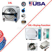 Usa 14l/18l Dental Lab Medical Autoclave Steam Sterilizer/ With Drying Function