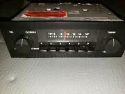 Vintage Ford Aerospace Stereo Player Radio Dash-in