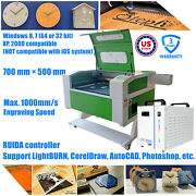 Us 90w Co2 Laser Machine Engraving Cutting Engraver Cutter 20 X 28 With Ruida