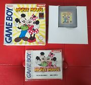 Mickey Mouse Complet Fah Nintendo Game Boy