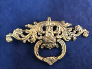 Vintage Victorian Keeler Brass Cabinet Handle Pull Shabby Country Farmhouse