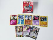 Pokemon Black And White Mini Binder W/ A Few Foils And Standard Cards