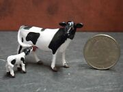 Dollhouse Miniature Cow And Calf Set Animals A17 148 Quarter Scale Dollys Gallery