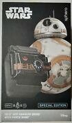 Sphero Star Wars Bb-8 App Enabled Droid With Force Band Special Edition Open Box