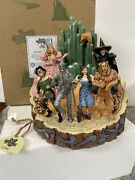 Jim Shore Adventure Emerald City 6005078 Wizard Of Oz Carved By Heart Witch