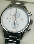 Tag Heuer Carrera Chronograph Calibre 1887 Automatic Rose Gold Watch Car2012-0