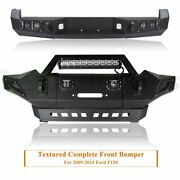 Heavy Duty Front + Rear Bumper With D-rings And Led Lights For Toyota Tacoma 05-15