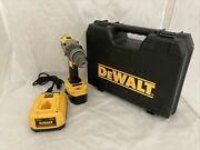 Dewalt Dcd950 18v Xrp Cordless 1/2 Drill/driver 1 Battery And Charger-very Good