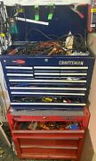 Craftsman Tool Chest And Box With Numerous Tools. Pickup Only